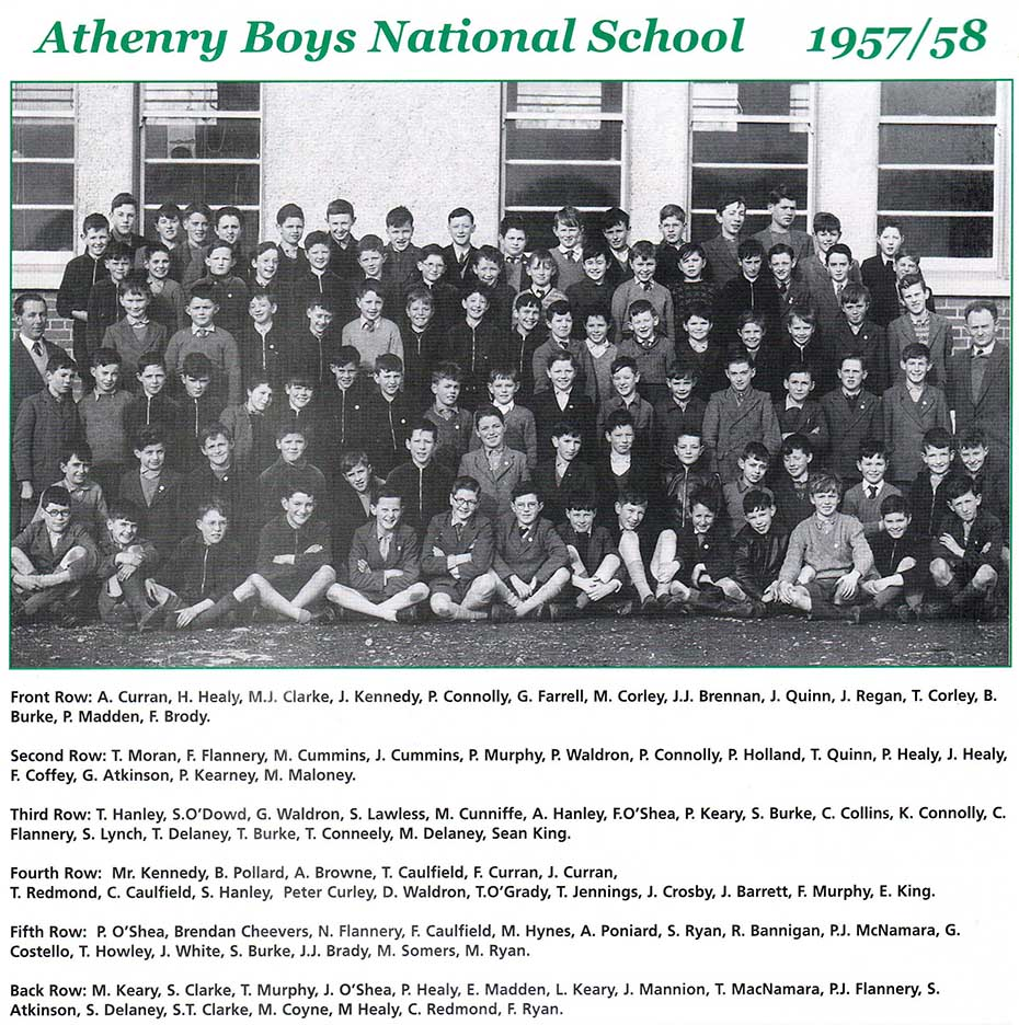 1958 Athenry Boys School