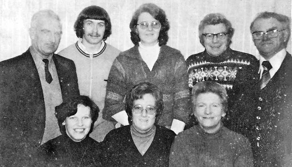 1978 Athenry Badminton Committee