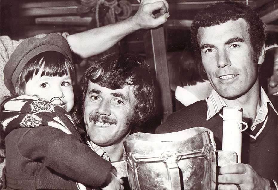 1980 John Connolly with cup