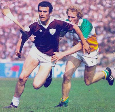 1981 John Connolly in All Ireland Final