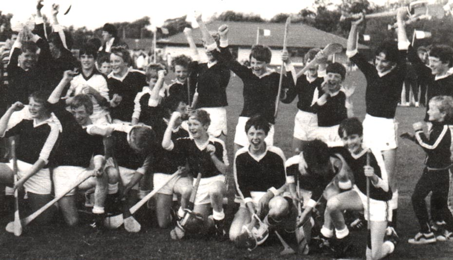 1982 community games team celebrate