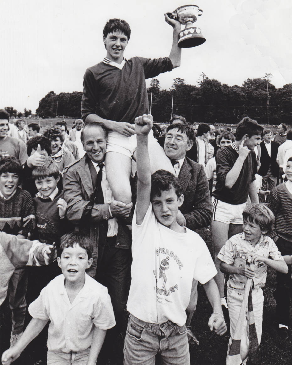 1987 Minor Captain Gerry Keane