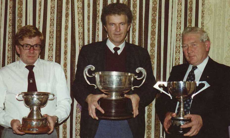1987 Officers with cups