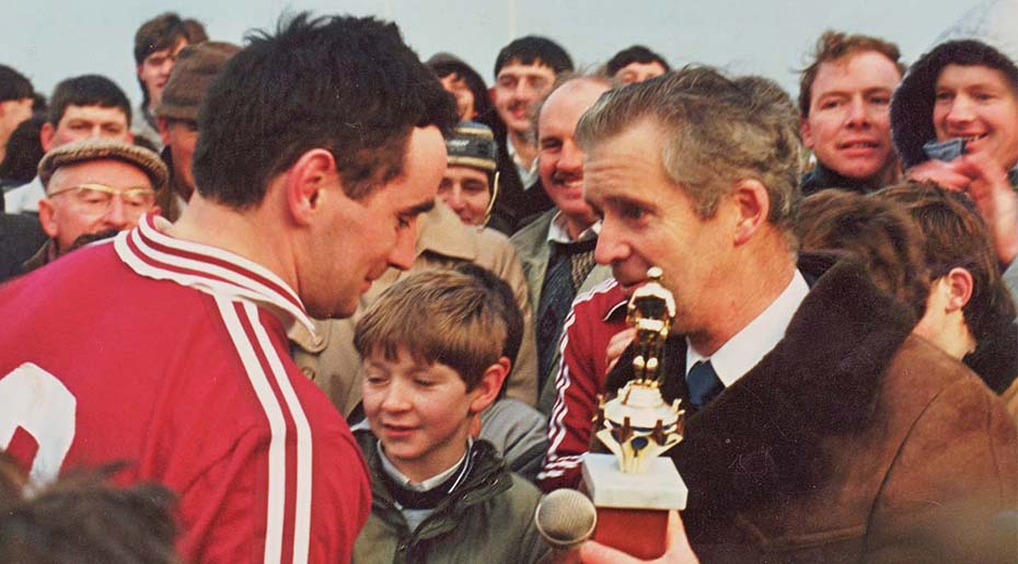1987 Pascal healy man of M connacht final