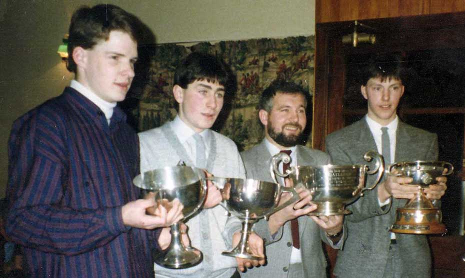 1987 captains with cups