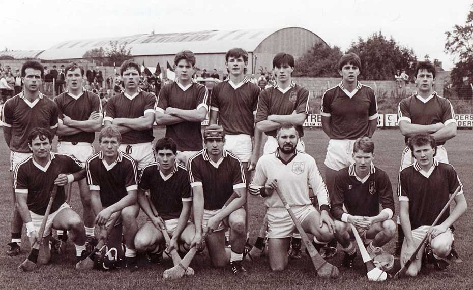1989 Senior team v Thomas