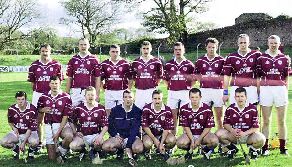 2004 senior team v gort