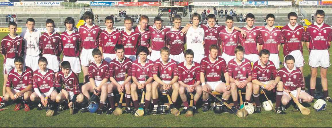 Minor Hurling Finalists 2008